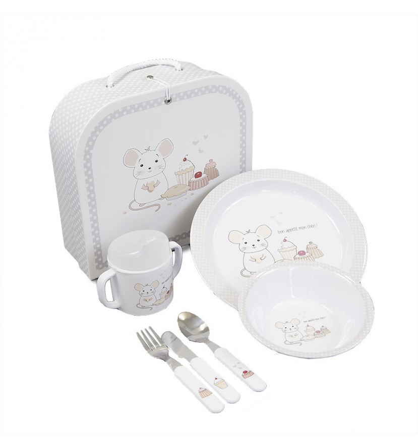 First Baby Dish Set