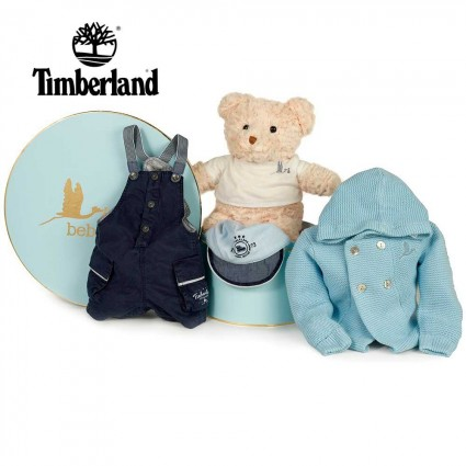 Baby Geschenkkorb Timberland Blue