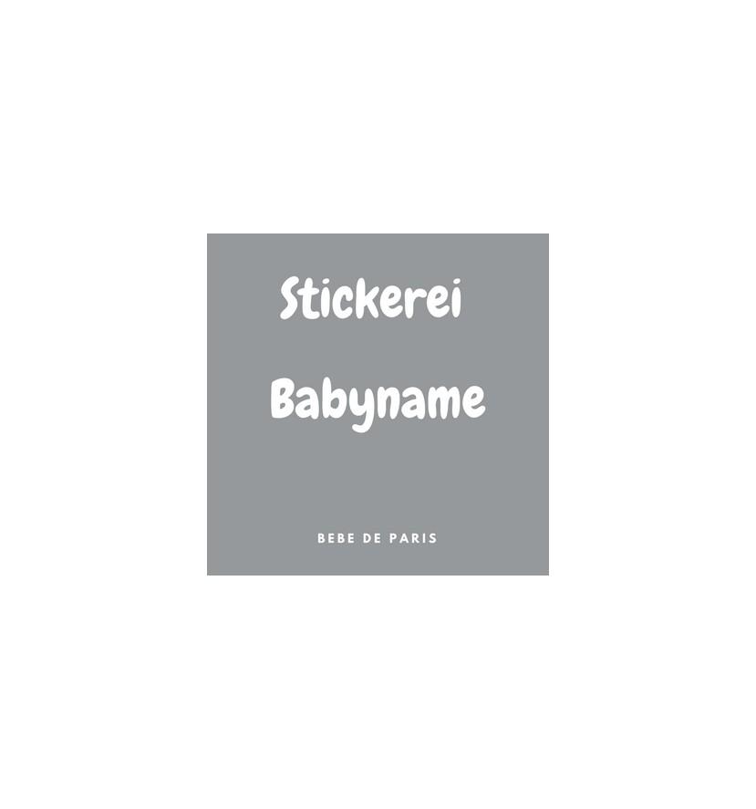 3 Stickereien Babyname