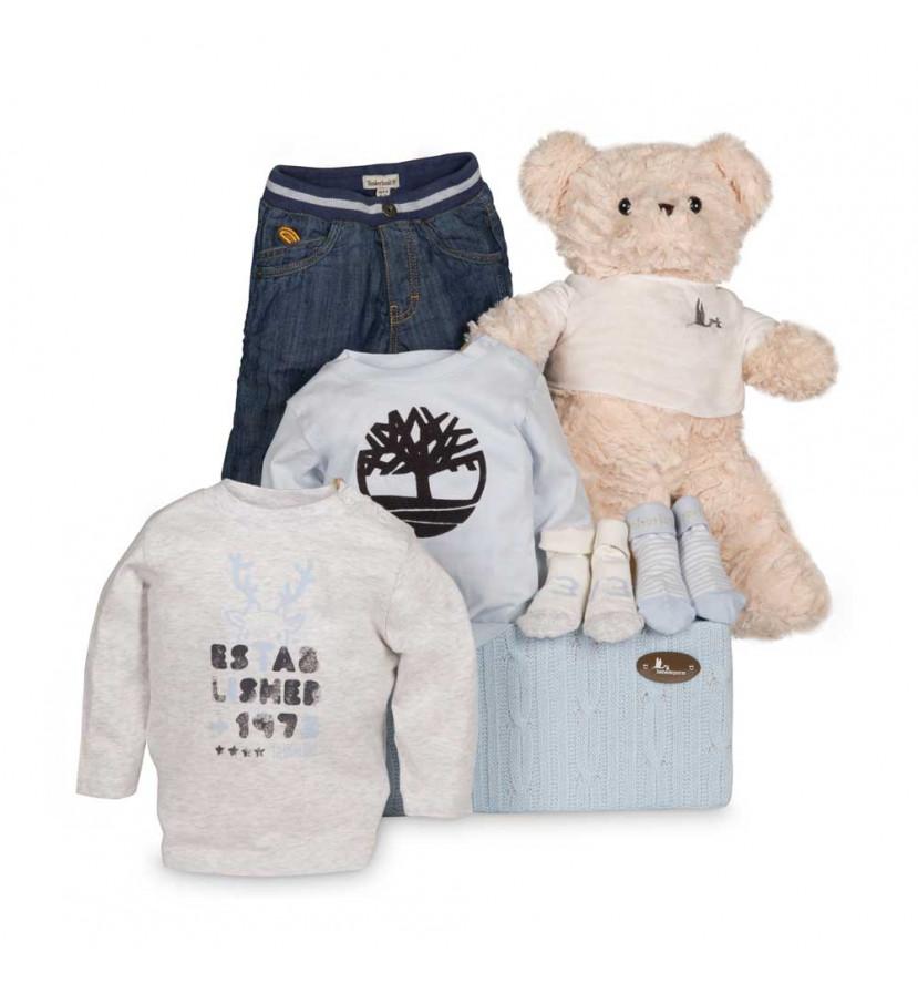 Baby Geschenkbox Timberland Trend