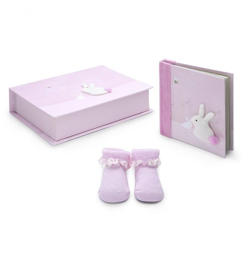 Baby Geschenkset Bunny
