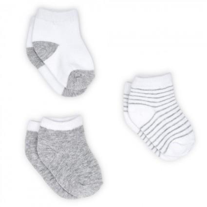 Baby Sockenset Grau