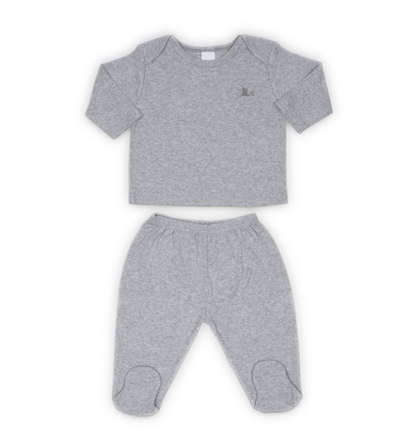 Babyset Klassisch Grau
