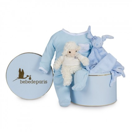 Serenity Essential Baby Hamper Blue