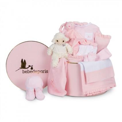 Pink Serenity Complete Baby Hamper