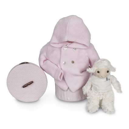 Pink Happy Classic Jacket Baby Hamper